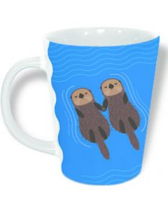 Drifting Otters Mug
